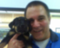 Rocky Junior and Jeff Salter of Rocky Junior's Dog Training Service Puyallup WA