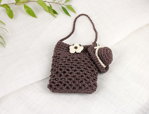 Crocheted Pouch 1