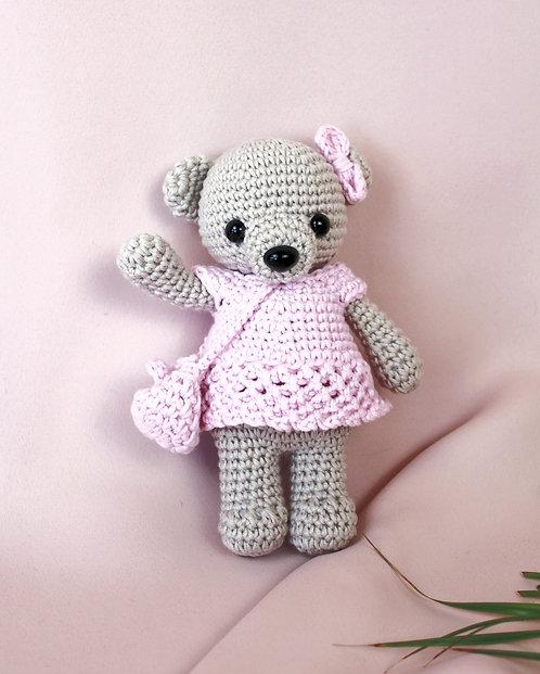 Bear in pink