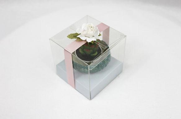 Cacti Candle+Holder