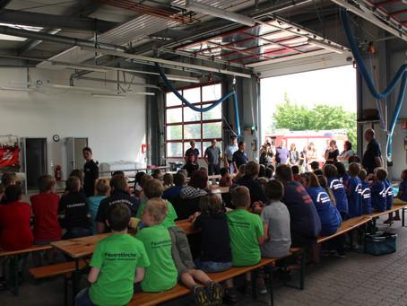 Kinderfeuerwehrzeltlager in Sachsenhagen