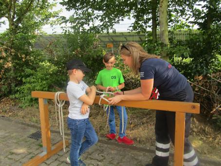 Schnuppern bei den Kinderfeuerwehren in Sachsenhagen