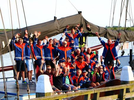 Segeltour und Campingplatz