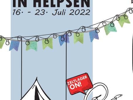 Vorankündigung: Zeltlager Helpsen 2022