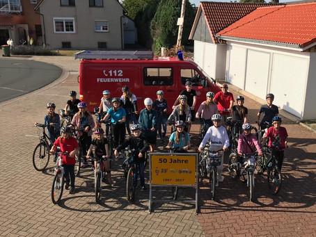 """JF Riehe radelt """"Tour de Schaumburg"""""""