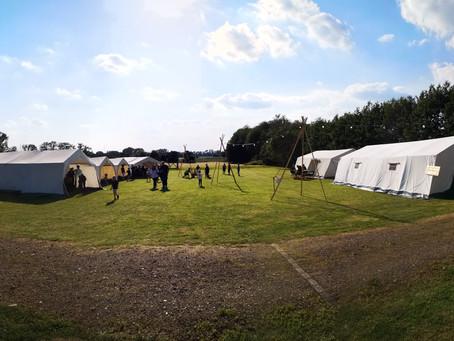 Zeltlager in Sachsenhagen