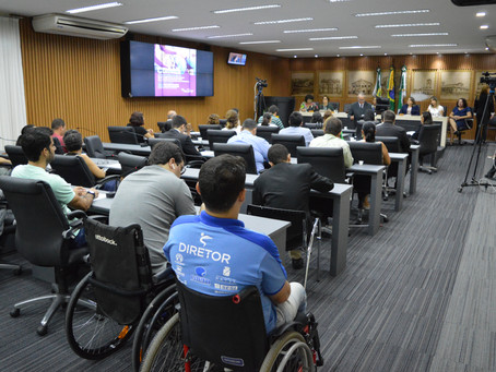 Sinsenat participa de audiência pública na Câmara Municipal