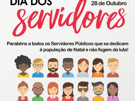 DIA DOS SERVIDORES PÚBLICOS - 28 DE OUTUBRO