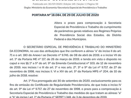 ADIADA A VOTAÇÃO DA REFORMA DA PREVIDÊNCIA MUNICIPAL