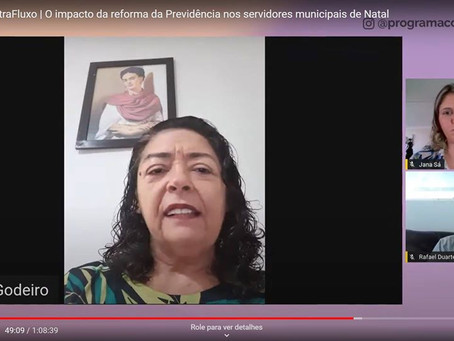 PROGRAMA CONTRAFLUXO DEBATE REFORMA DA PREVIDÊNCIA MUNICIPAL