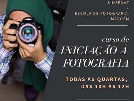 Escola de Formação abre nova turma para Curso de Fotografia