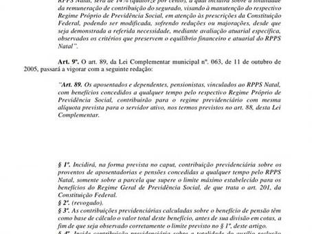 SINSENAT DENUNCIA FALTA DE DEBATE COM A SOCIEDADE CIVIL SOBRE O PROJETO DE REFORMA DA PREVIDÊNCIA EN