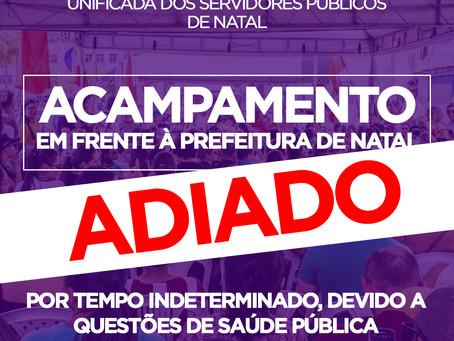 ACAMPAMENTO NA PREFEITURA ADIADO POR TEMPO INDETERMINADO