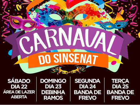 CARNAVAL DO SINSENAT!