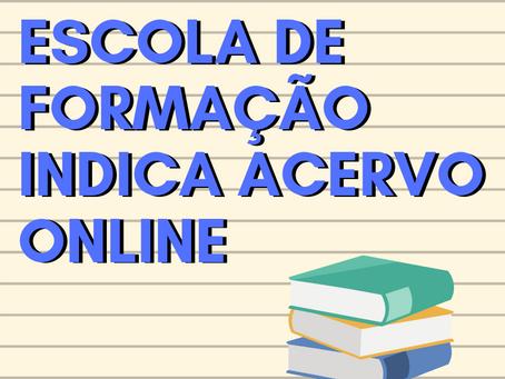 Escola de Formação do Sinsenat indica acervo online