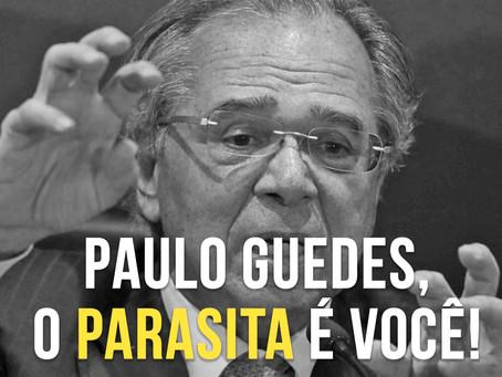 SINSENAT REPUDIA OFENSA DO MINISTRO PAULO GUEDES AOS SERVIDORES PÚBLICOS