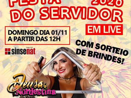 VEM AÍ A FESTA LIVE DO SERVIDOR 2020!