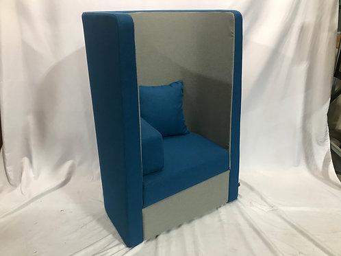 Blue Herman Miller Lounge Chair