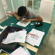 Préparation dessins