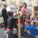 Construction de jardinières
