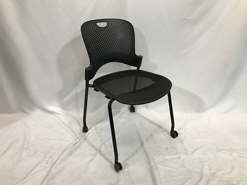 Pre-owned Caper Stacking Chairs, Armless