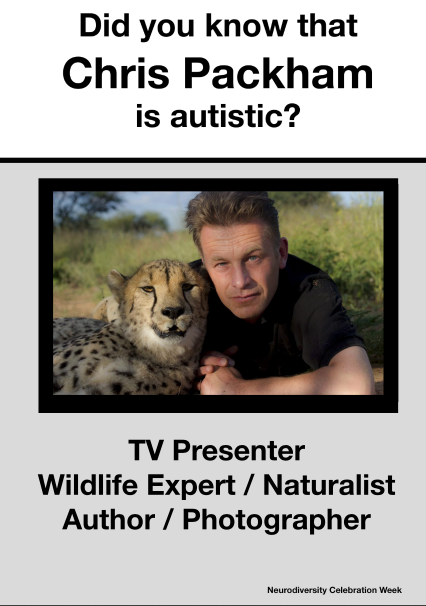 Chris Packham Poster