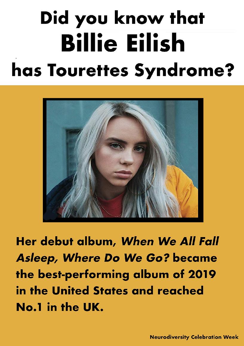 Tourerres: Billie Eilish Poster