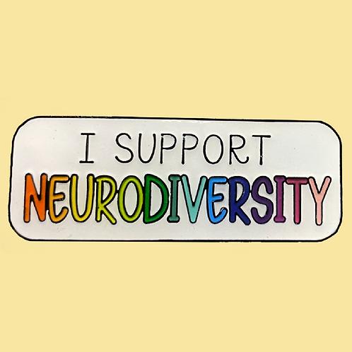 Neurodiversity Pin Badge