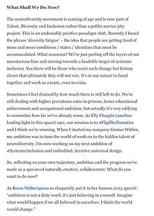 Siena Castellon: Forbes feature on Neurodiversity Celebration Week