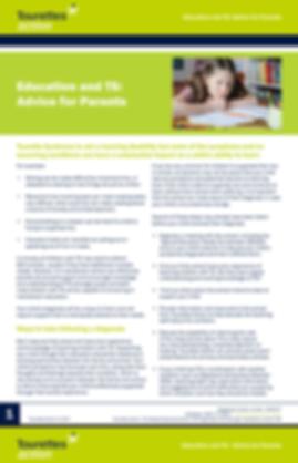 Tourettes: Advice for Parents