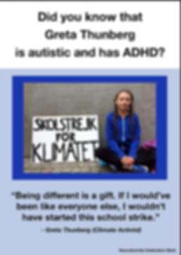 Greta Thunberg Poster
