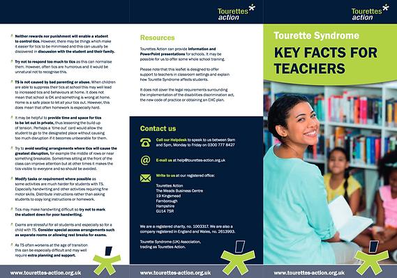 Tourettes: Key Facts for Teachers