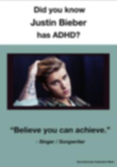 Justin Bieber - ADHD Poster
