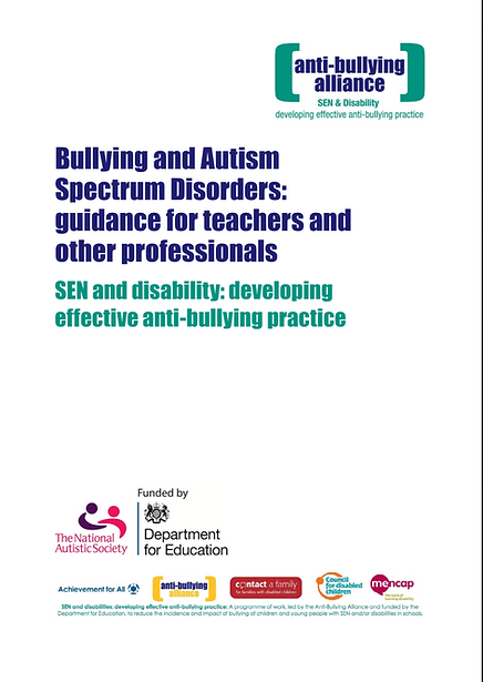 Bullying and Autism: Guide for Teachers