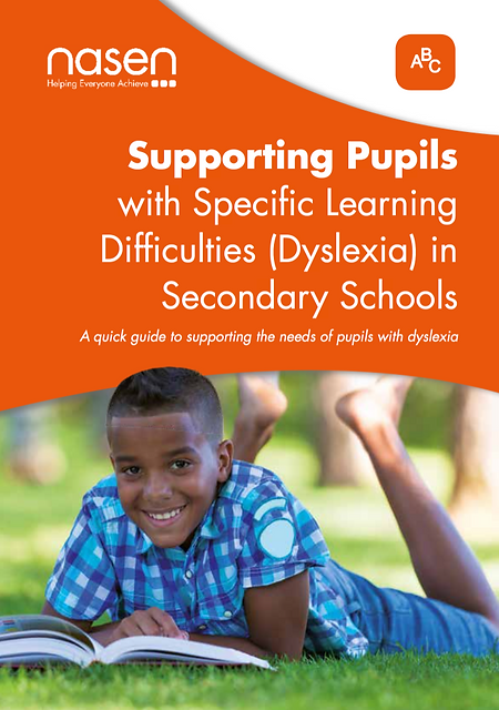 Dyslexia: Supporting Secondary School Students