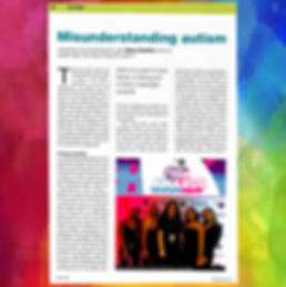 Siena Casellon's SEN Magazine article on misunderstanding autism