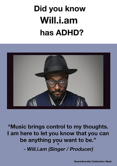 Will.i.am - ADHD Poster