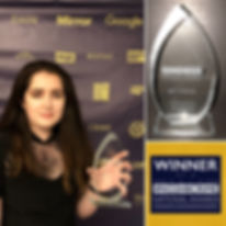 Siena Castellon winner of the 2018 Young Upstander #No2H8 Crime Award
