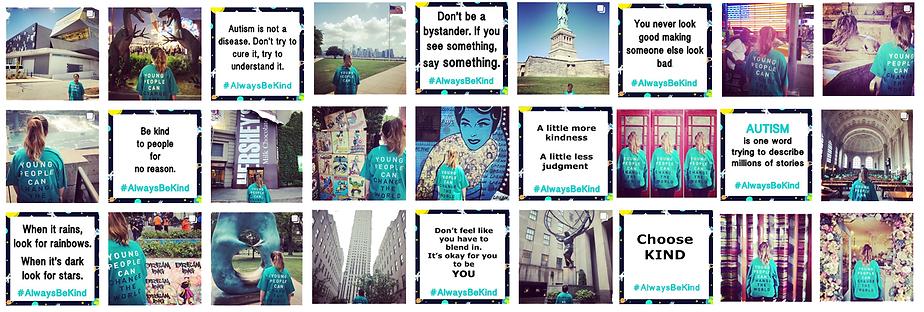 Siena Castellon's #AlwaysbeKind Campaign