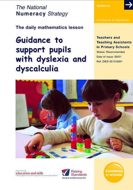 Dyscalculia Leaflet
