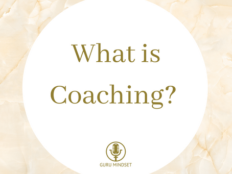 What exactly IS Coaching?