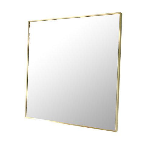 Thick Full-framed Mirror (Gold)