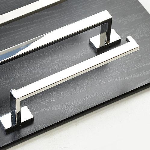 3-Piece Bathroom Hardware Set (Chromed/Brush Nickel)