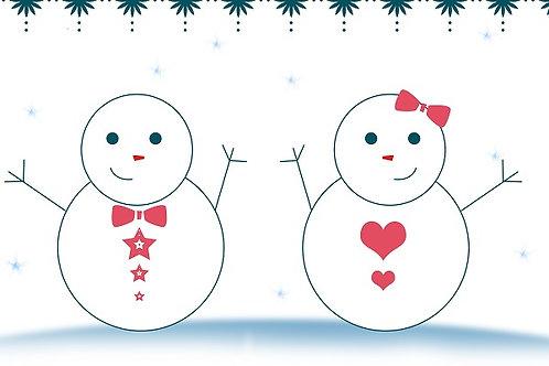 illustration 6 - Snowman