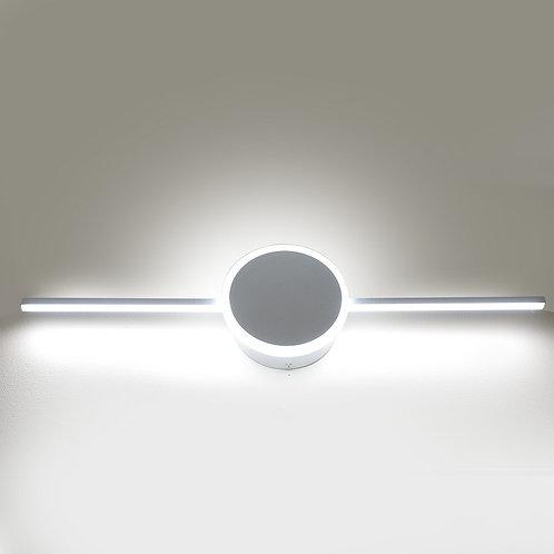 12W LED Vanity Light -Round Shape with Bar