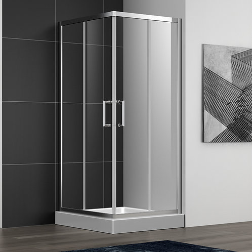 """36"""" 6MM Framed Sliding Shower Glass and Doors"""