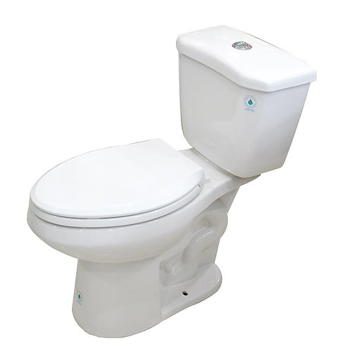 Elisse 2-piece Dual Flush Toilet (ADA Elongated Bowl)
