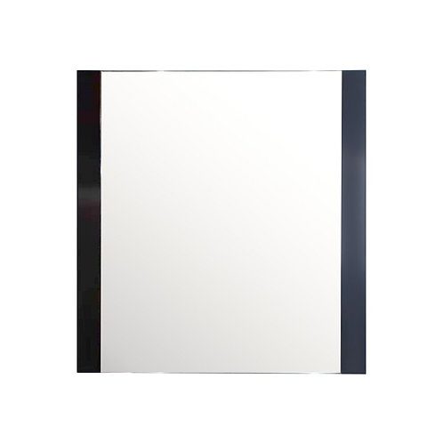 """24"""" to 72"""" Double-Side Framed Mirror (Espresso)"""