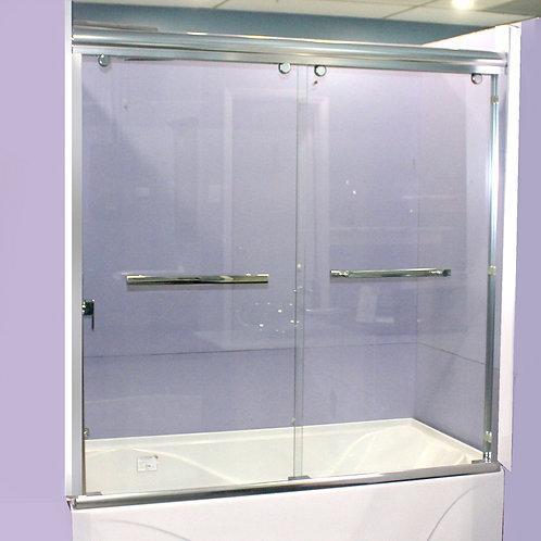 """60"""" Framed Bathtub Shower Doors"""