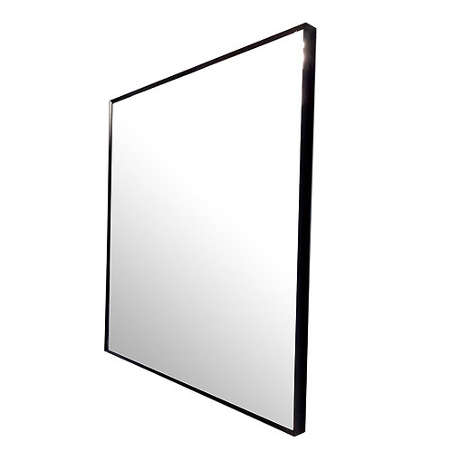 Thick Full-framed Mirror (Black)